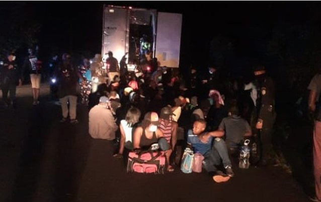 128 migrants rescued from shipping containers in Guatemala