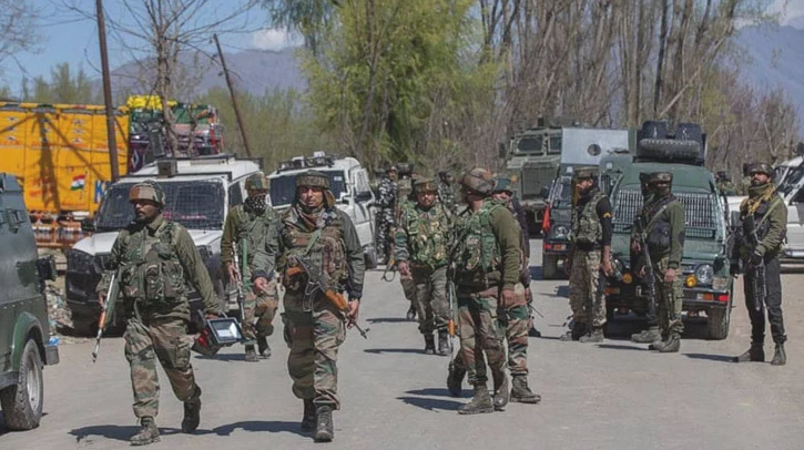 Two teachers killed in militant attack on school in Kashmir