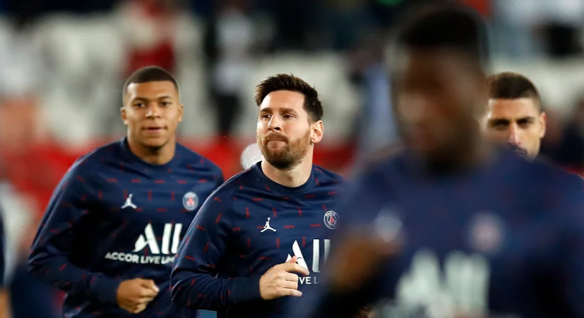 Mbappe wanted to leave PSG before Messi joined