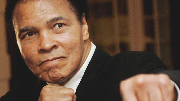 Boxer Mohammad Ali's paintings sold for 1 million