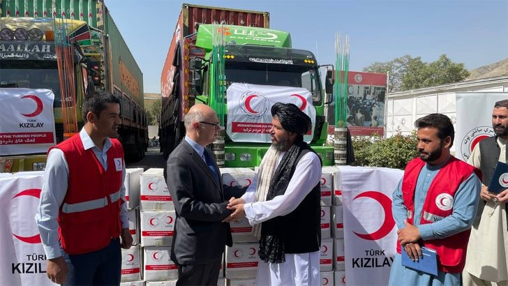 16,000 Afghans will receive food aid from Turkey