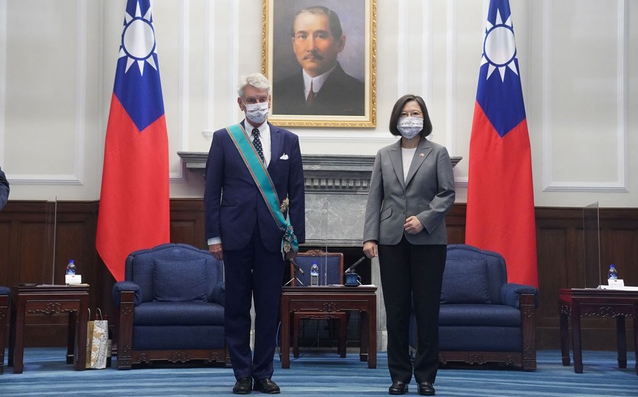 Taiwan seeks international support after Chinese incursion